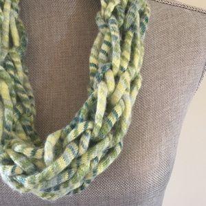 Hedgerow handmade arm knit infinity scarf